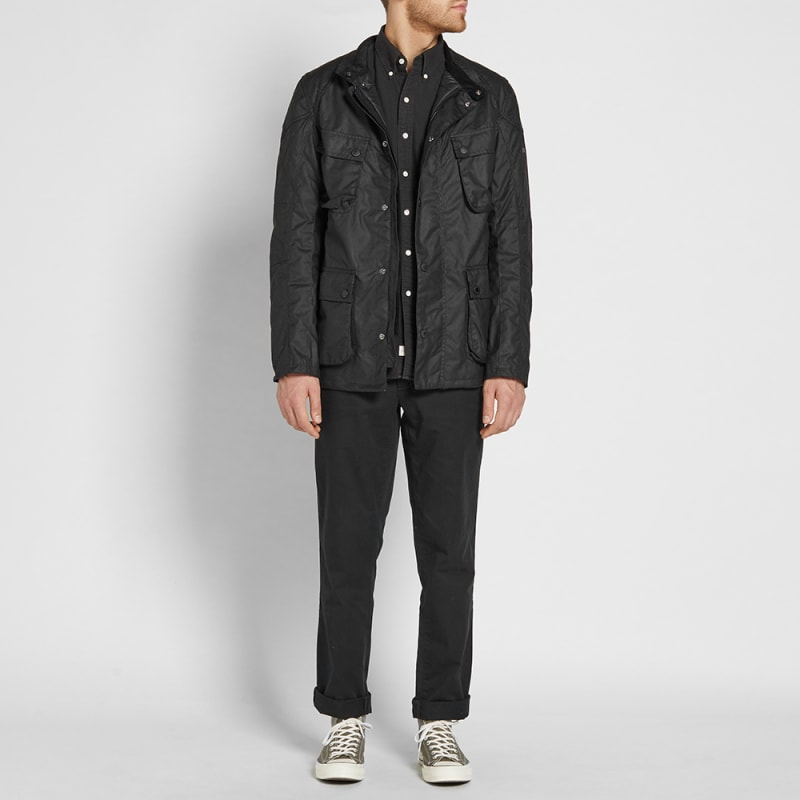 Ladies barbour wax jacket size 22