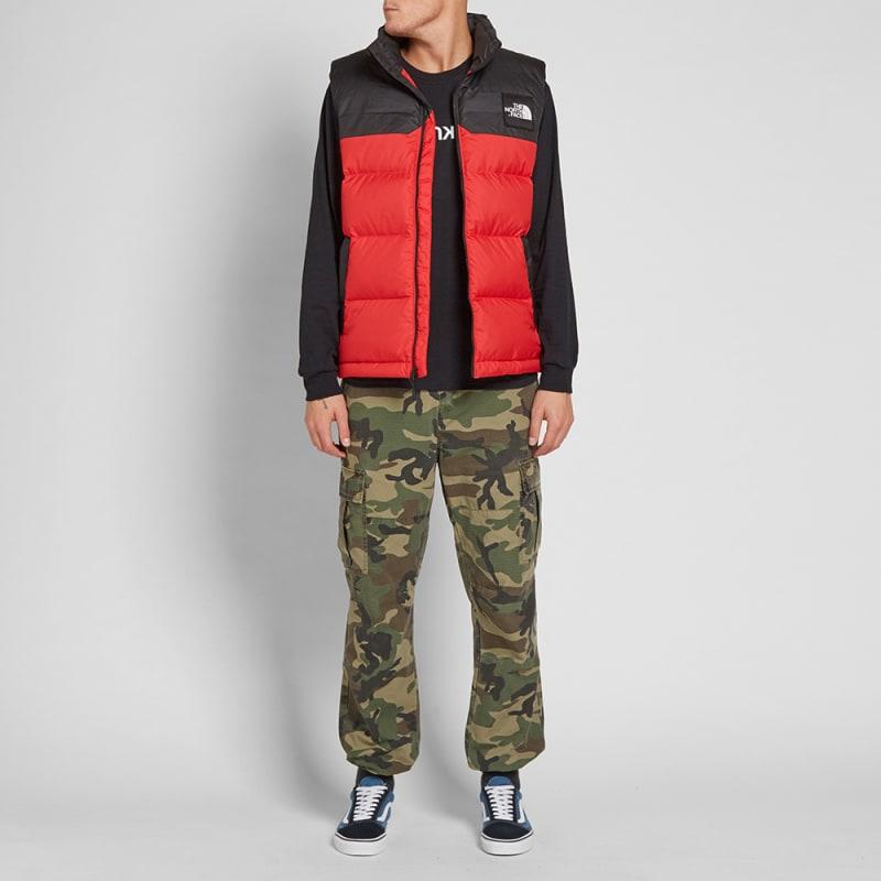 b41c1fde002d The North Face 1992 Nuptse Vest (Red)