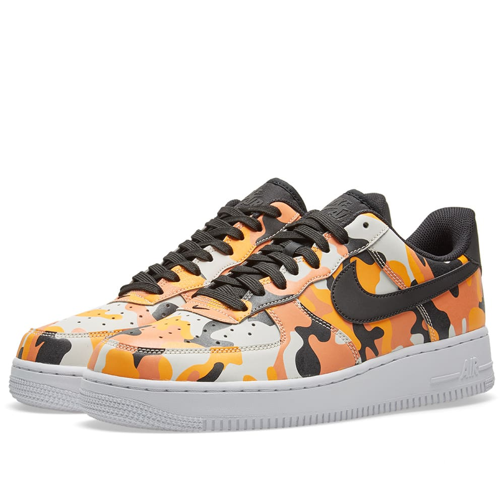 47e2ac41044c Nike Aire Force 1  07 LV8 CamoTeam Orange Black