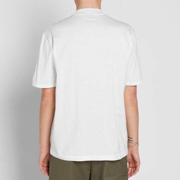 Lanvin high collar tee white end for High end white t shirts