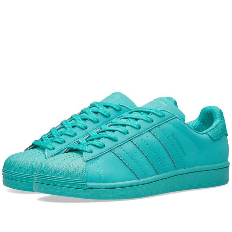 Adidas Men Superstar Adicolor green shock mint Bait