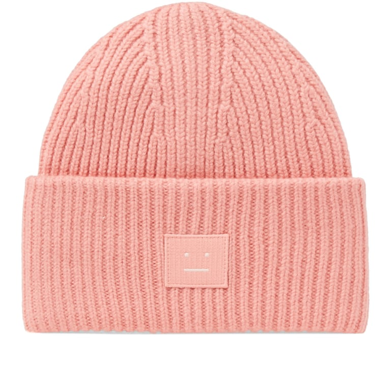 Pink Pansy S Face Beanie Acne Studios