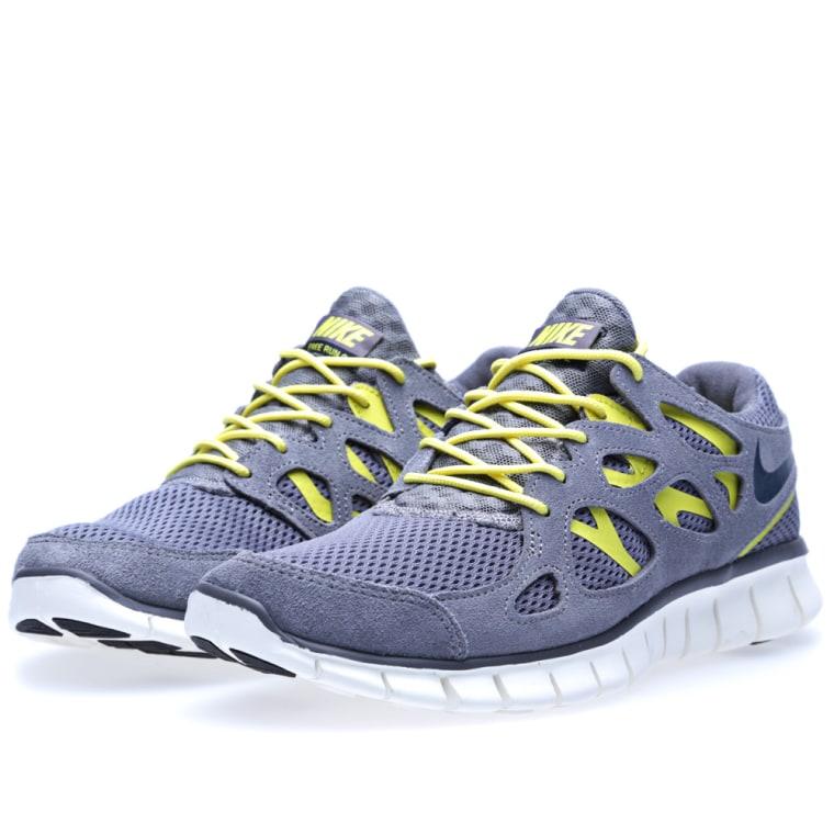 11e521195e4 ... White Cool Grey Nike Free Run 2 Cool Grey, Armoury Navy ...
