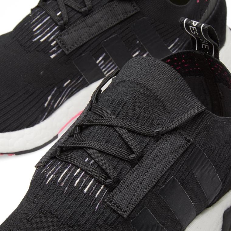 cheaper 81a68 04266 2018 Adidas NMD Racer PK Primeknit Core BlackSolar Pink CQ24
