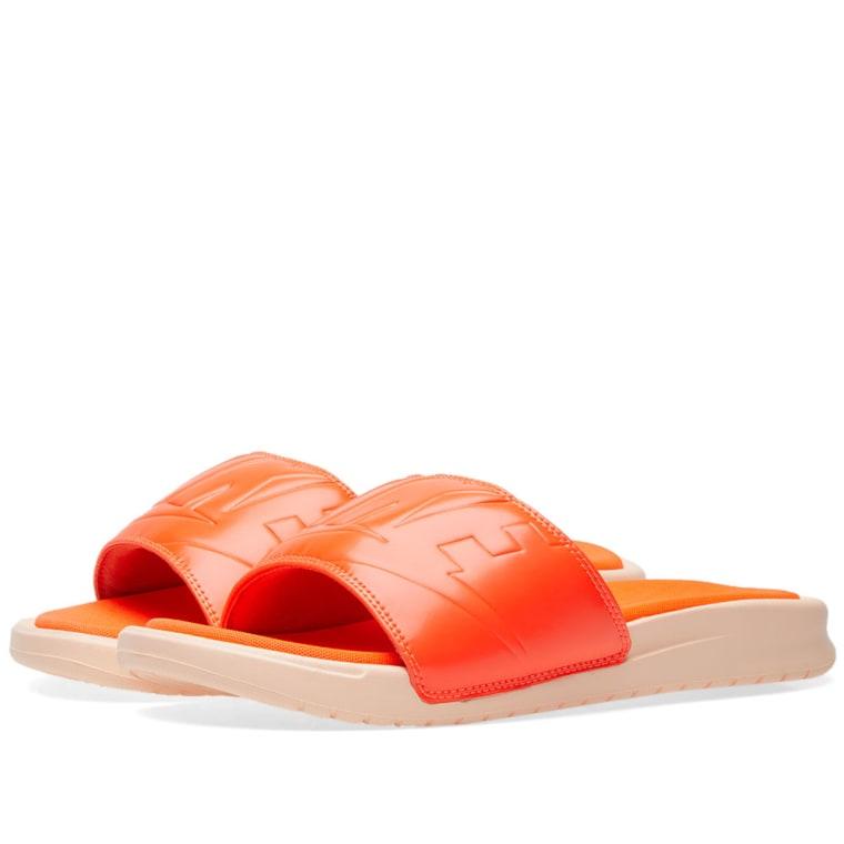 Nike Benassi JDI Ultra Lux Women's Crimson Tint/Total Crimson 2408801