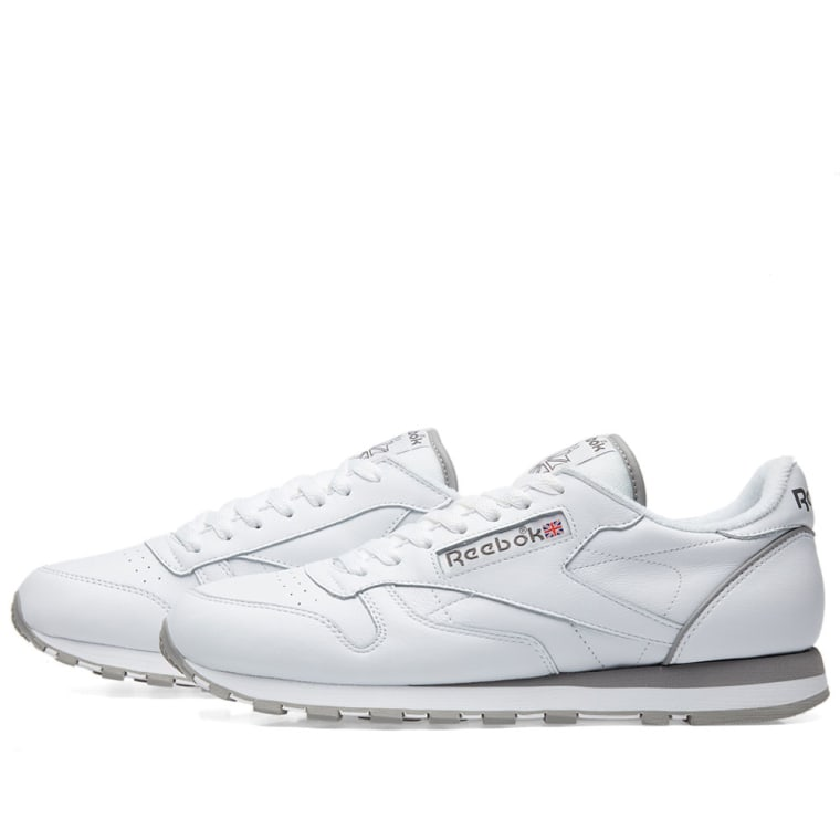 Reebok Classic Leather Archive / Carbon/ Red/ Grey
