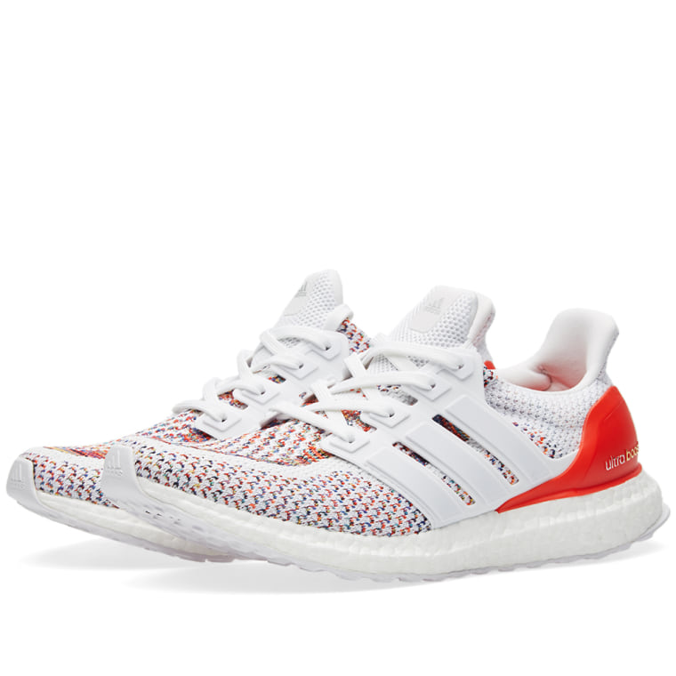 Adidas Ultra Boost M White Amp Red End