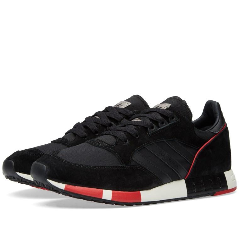 Adidas Boston Super Core Black and Collegiate Red 1