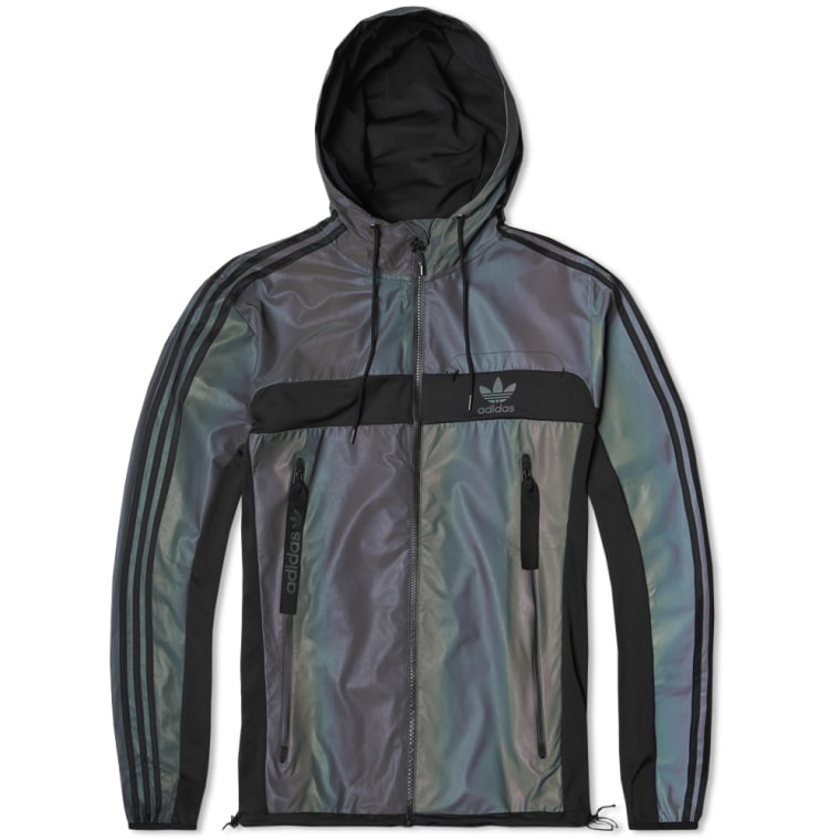 Adidas Xeno Windbreaker Multi Amp Black End