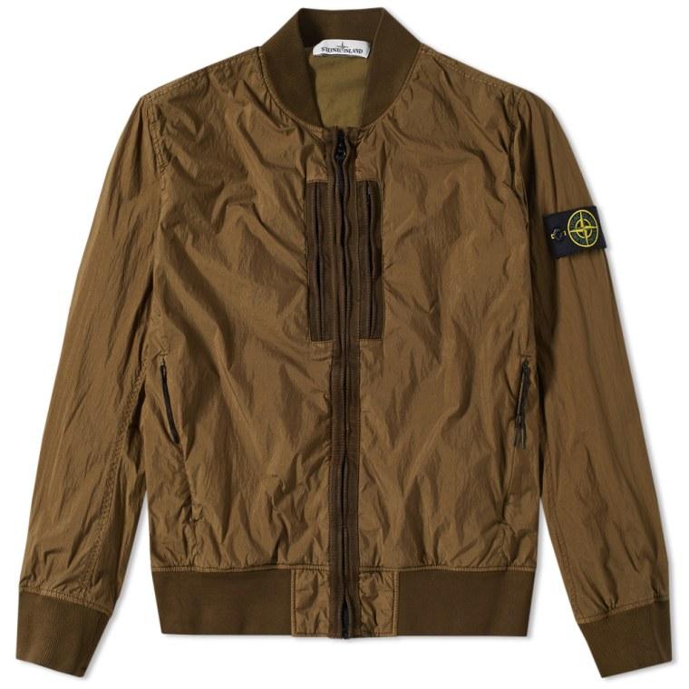Stone Island Garment Dyed Shell Jacket