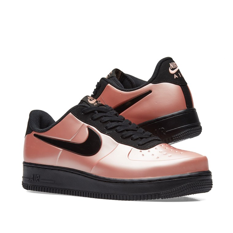 397047e4bf811 ... Nike Air Force 1 Foamposite Pro Cupsole Coral Stardust Black ...