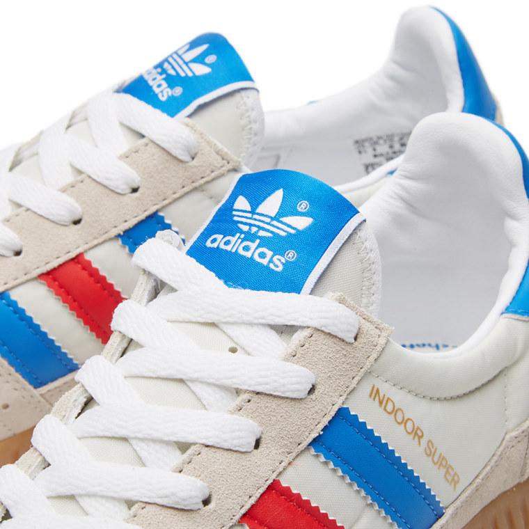 ... find sneaker d1679 7ff9c Adidas SPZL Indoor Super Chalk White Bright  Royal 4 . ... 66d3193ab