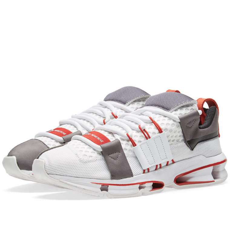 Adidas Mens Twinstrike A/D Workshop White/Black-Red AC7666