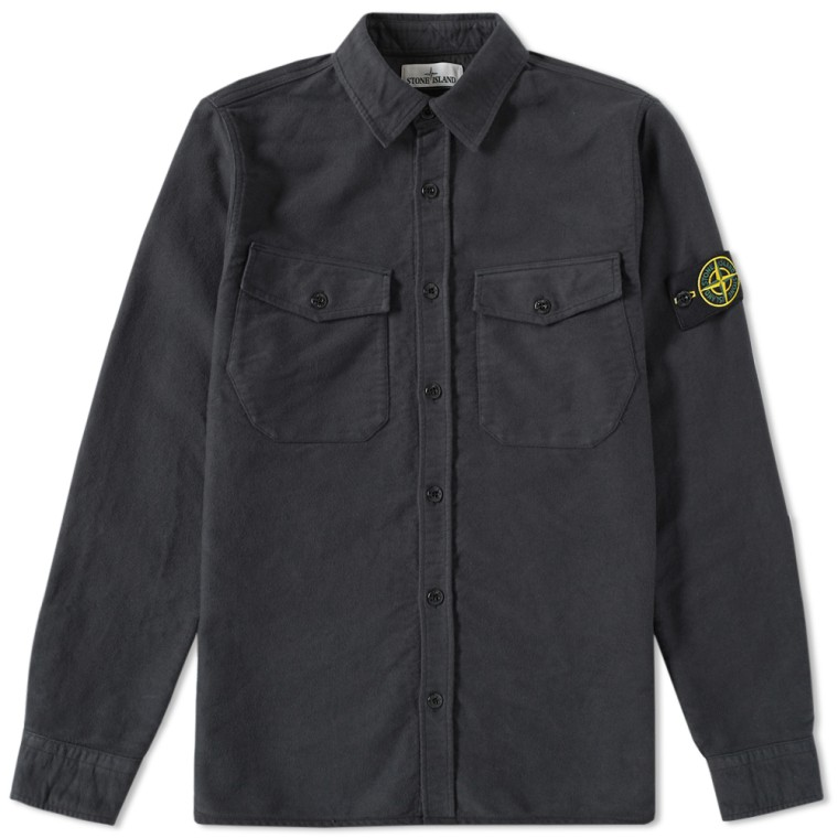 Stone Island Twill Over Shirt Product Code