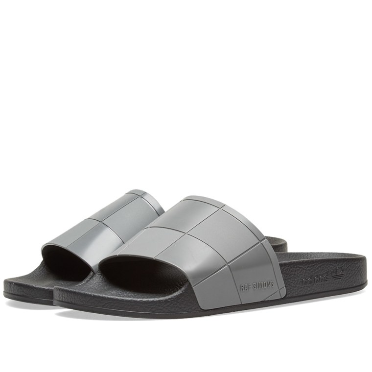 X adidas Adilette Checkerboard Slides adidas by Raf Simons