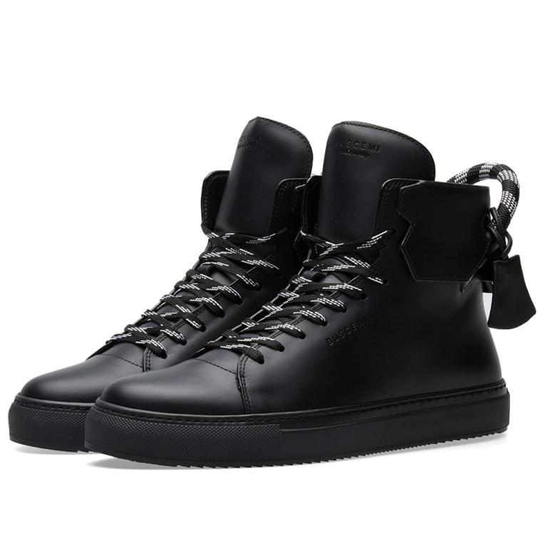 125MM Corda sneakers - Black Buscemi