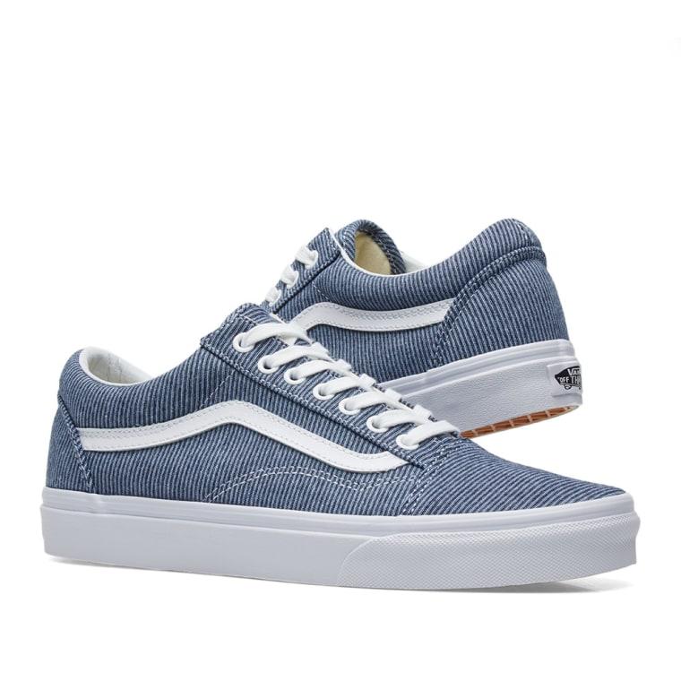 Vans Old Skool (Jersey) Blue/ True White Salida De Precio Más Bajo Venta Al Por Mayor Precio En Línea Navegar Aclaramiento Venta Para Barato mKX2poMuz