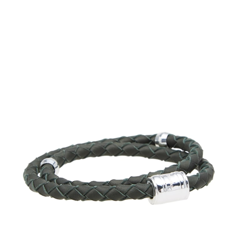 Miansai Casing braided leather bracelet
