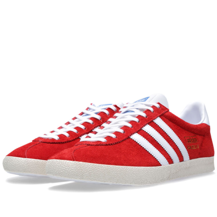Adidas Gazelle OG University Red White and Chalk 1