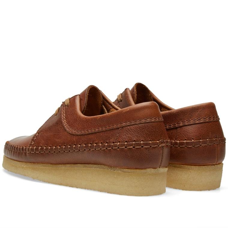 Clarks Originals Weaver Shoe Tan Leather