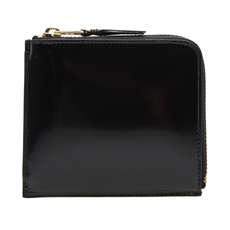 Glossy zip wallet Comme Des Gar?ons