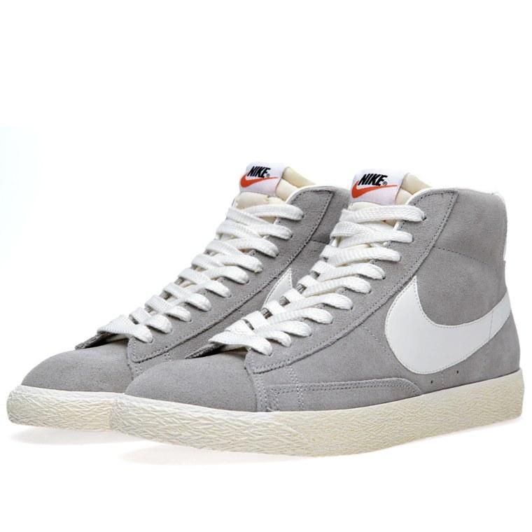 low priced 76acc 15057 ... Nike Blazer Mid Premium Medium Grey Sail ...