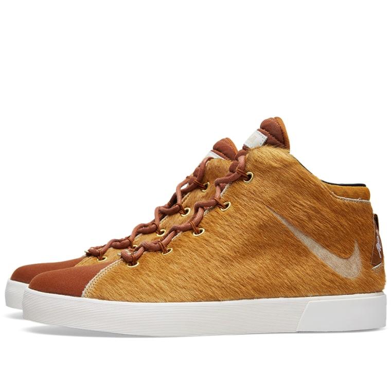 Nike LeBron XII NSW Lifestyle QS \u0027Lion\u0027s Mane\u0027 Camel \u0026 Hazelnut 2