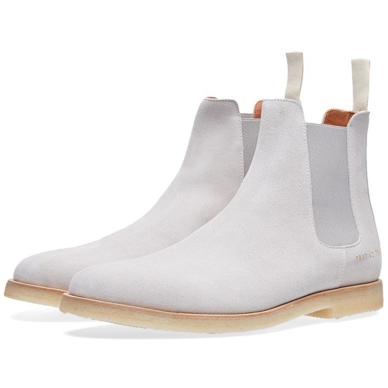 NEW COMMON PROJECTS CHELSEA BOOT Tan Suede 42 EU