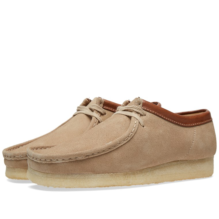 Clarks Originals Brown Sand Leather Suede Wallabee Online shop Complete In Specifications