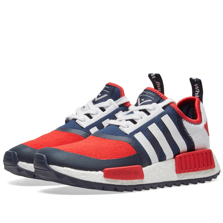 Adidas X White Mountaineering NMD Trail Pk Wm Ba7519 New Sz 9 Us Navy White Collegiate Navy/White