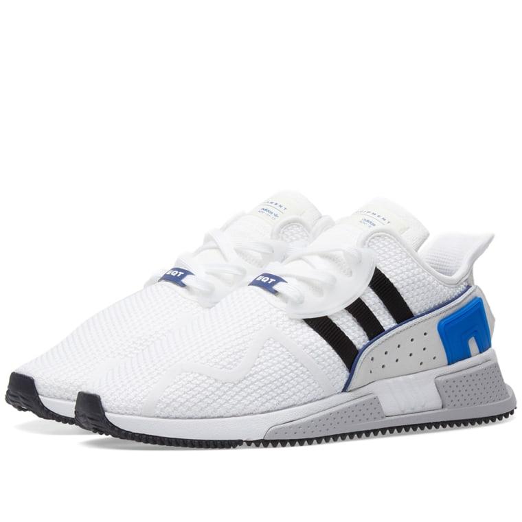 sports shoes 6387d a95fe adidas eqt cushion adv white black royal 1