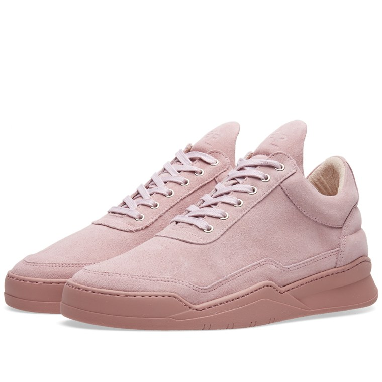 Tonal sneakers - Pink & Purple Filling Pieces