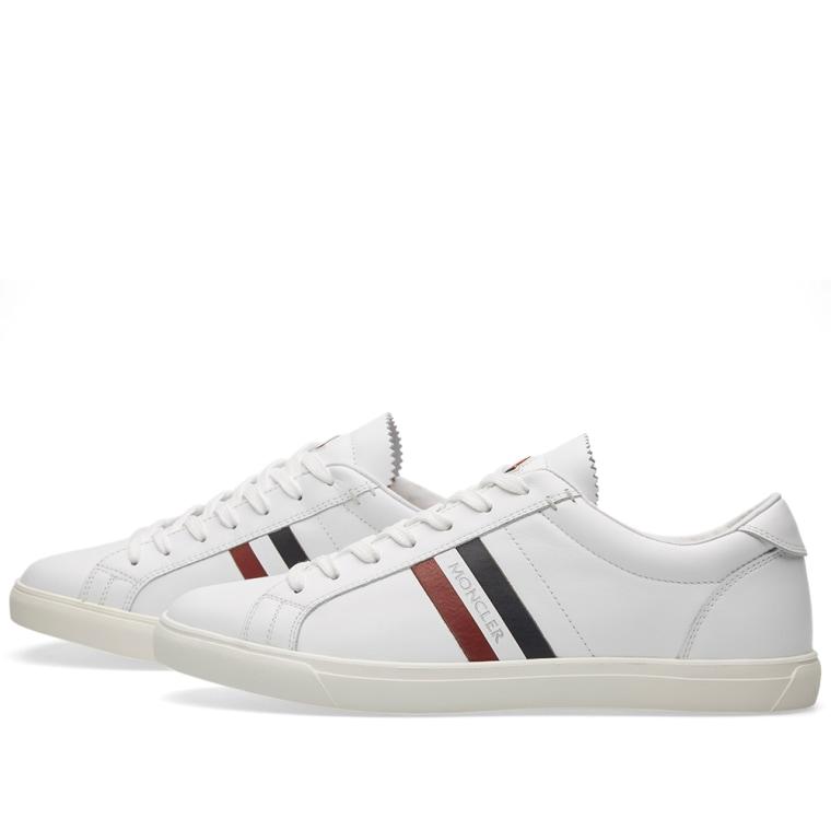 Moncler Classic Monaco Sneaker (White)