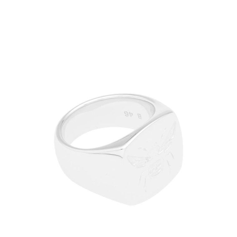 fashion ring uhuru empandasignetwhite silver empanda luxury sustainable signet