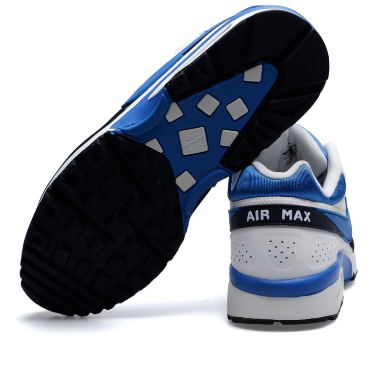 factory price 81b3b b2764 ... max classic bw textile trainers white ridgerock old royal blue black  1c431 3f0bc  spain nike air classic bw white imperial blue black 88318 83835