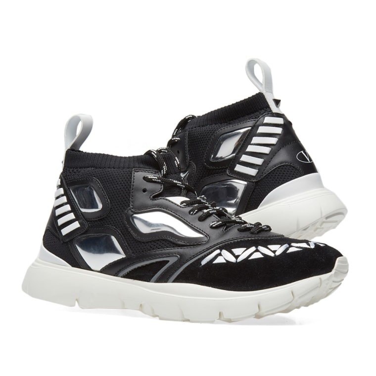 Black heroes reflex sneakers Valentino