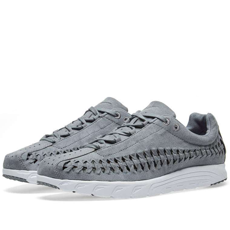 New Nike Sportswear Mayfly Woven Cool Grey Running Shoes for Men Online Sale