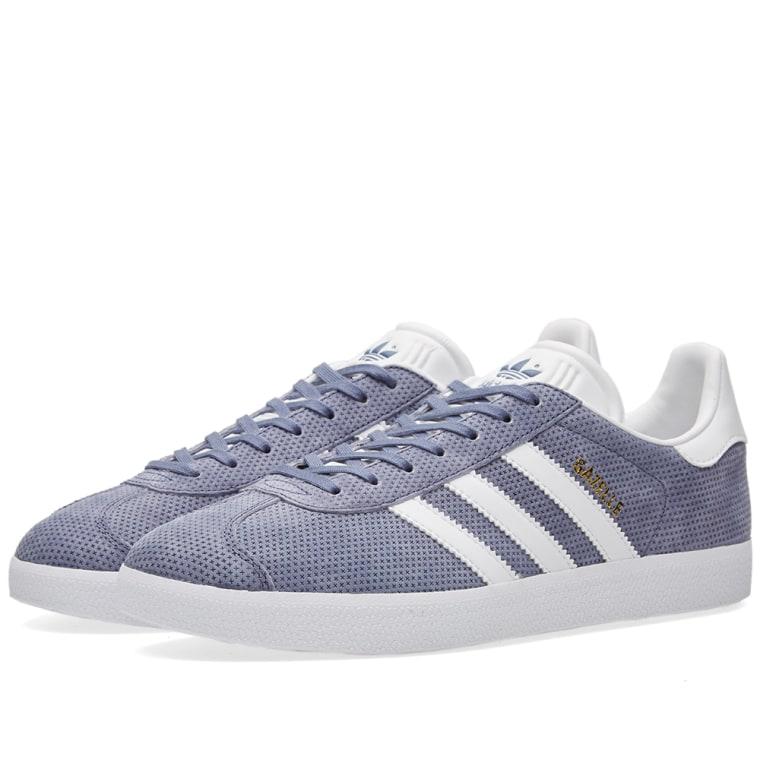 adidas Gazelle chaussures 9,5 super purple/white