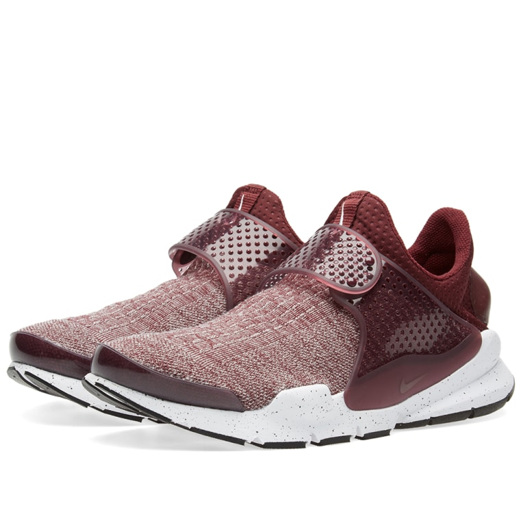 shoes NIKE SOCK DART SE PREMIUM 859553 600 night maroon num 45 EU 11 US