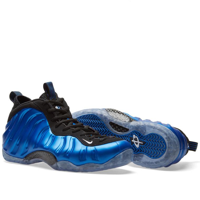 Nike Air Foamposite One XX Dark Neon Royal \u0026 White 7