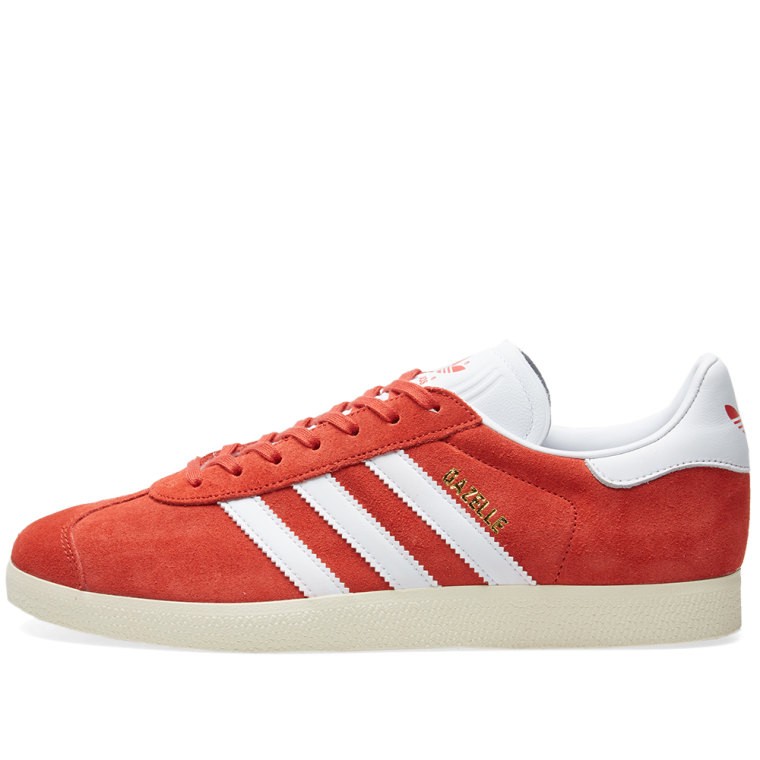 adidas gazelle tactile red white cream end. Black Bedroom Furniture Sets. Home Design Ideas