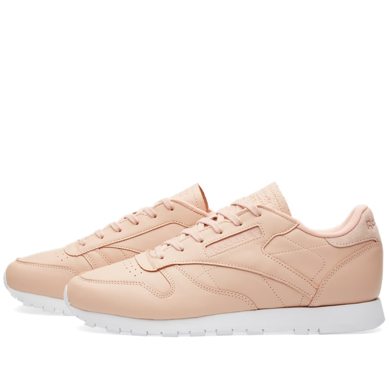 reebok women 39 s classic leather nt rose cloud white end. Black Bedroom Furniture Sets. Home Design Ideas