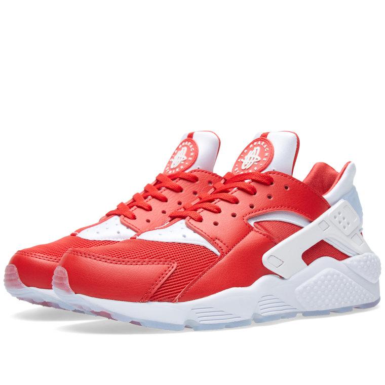 Nike Air Huarache Run  Milan  University Red  White 1