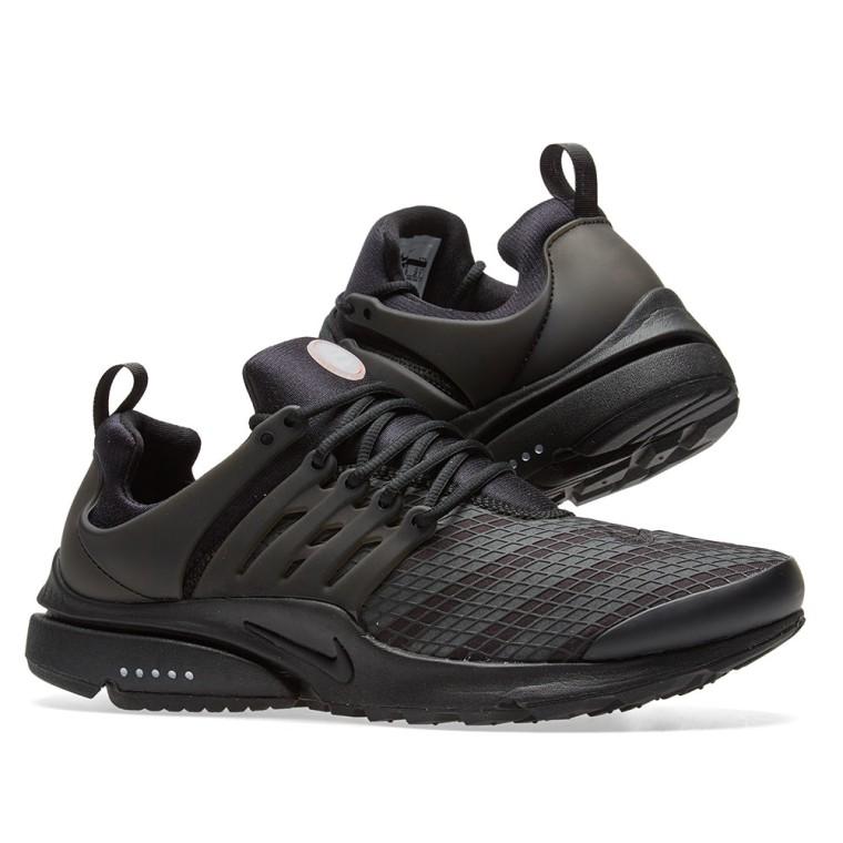 Basket mode - Sneakers NIKE Presto Low Utility Noir Noir 862749-004