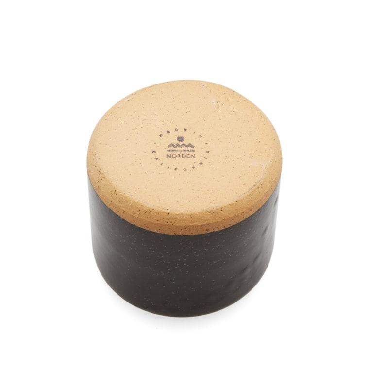 Norden Goods 5 Quot Stoneware Planter Black Speckle End