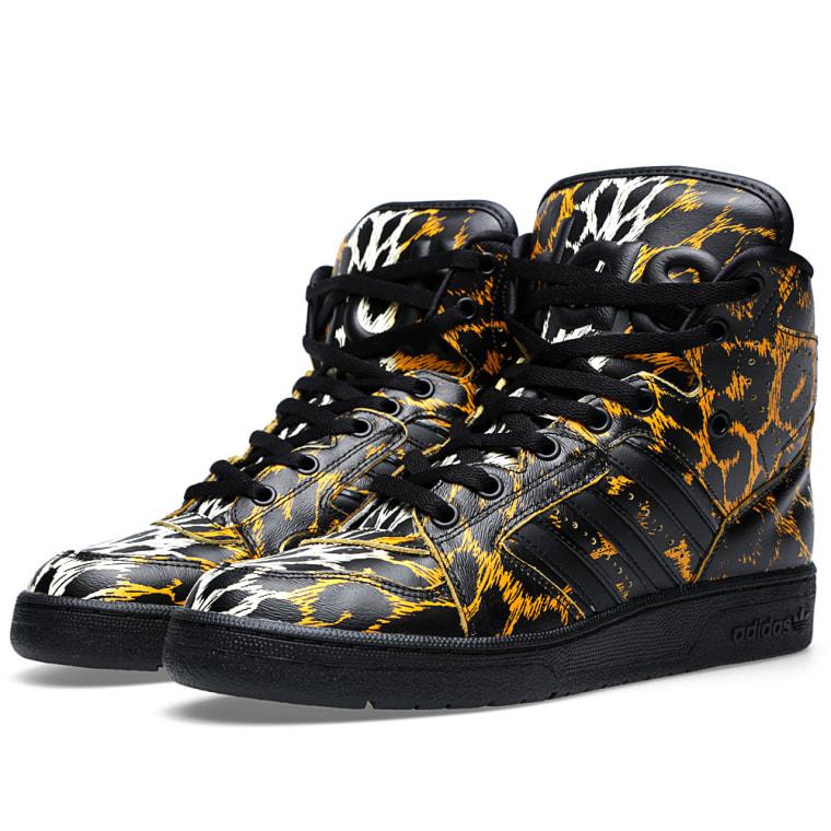 Adidas ObyO JS Jeremy Scott INSTINCT HI LEOPARD