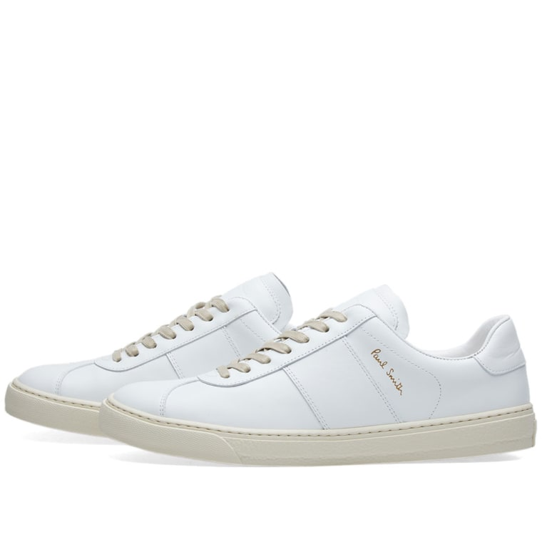 White Levon Sneakers Paul Smith