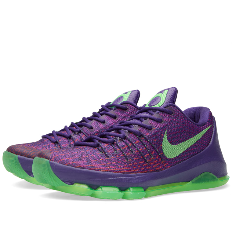 7e37951417b purchase nike kd 8 viii mens basketball shoes purple green 749375 535 0119c  508a2  canada nike kd 8 suit court purple green strike 1 4ff76 799e5
