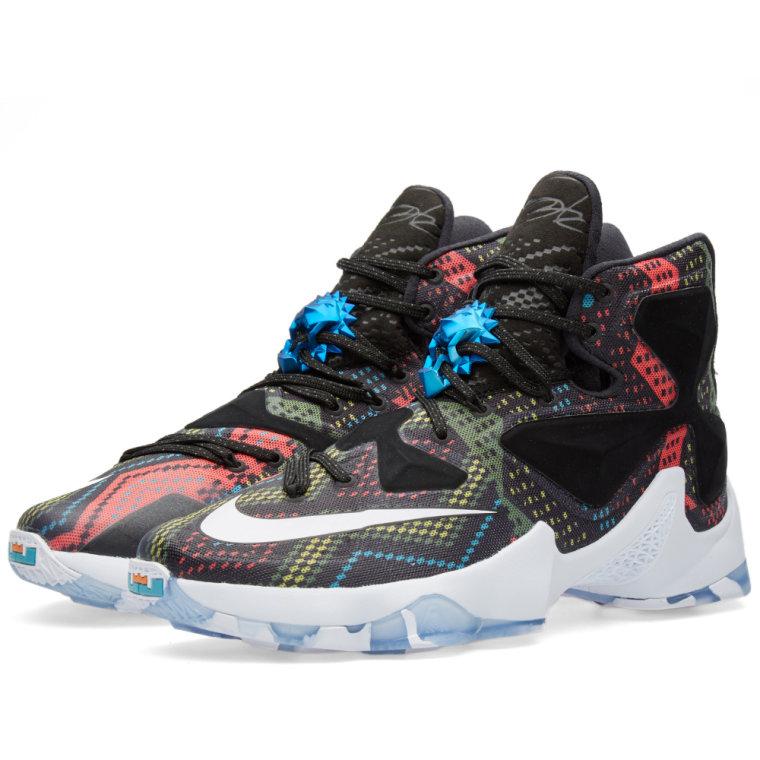 Nike Lebron XIII BHM Multicolour  White  Black 1