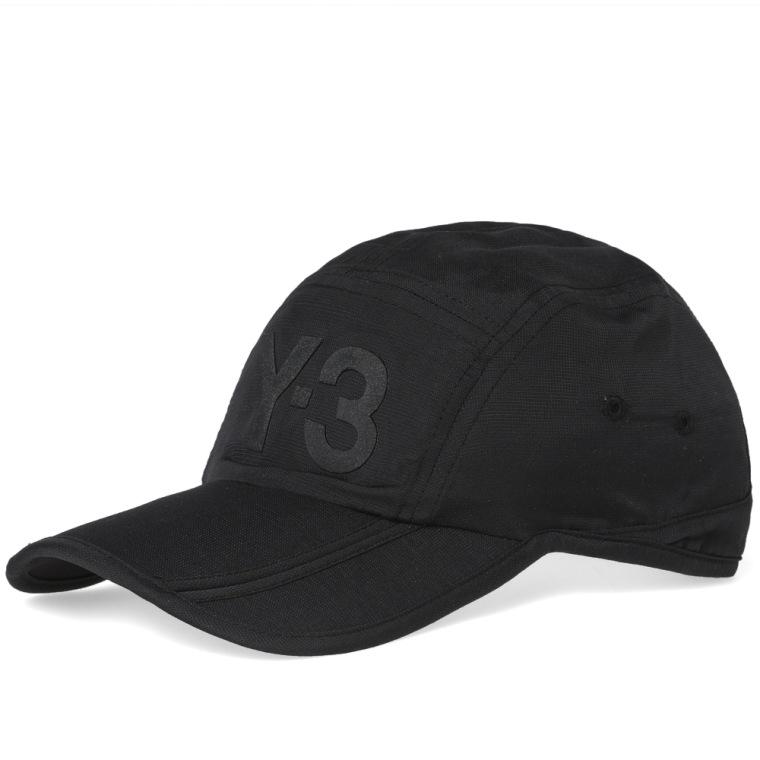 panelled baseball cap - Black Yohji Yamamoto